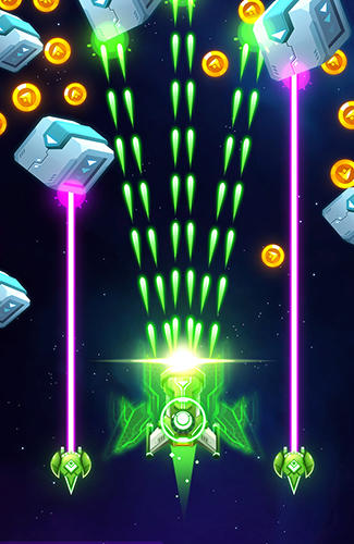 Alien strike: Galaxy shooter pour Android