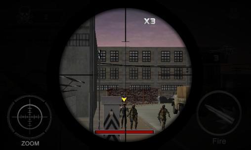 ігри про СнайперівThe sniper revenge: Assassin 3Dукраїнською