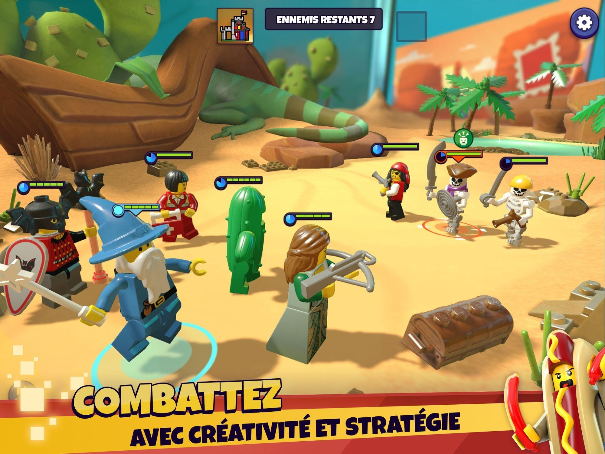 LEGO® Legacy: Heroes Unboxed pour Android