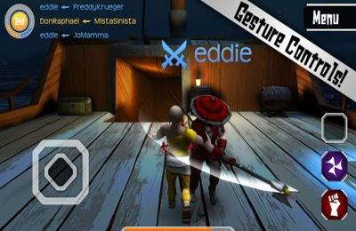 Cutting Edge Arena for iPhone
