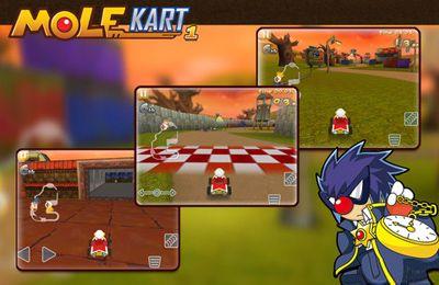 マルチプレイヤーゲーム: 電話に モグラマリオカートをダウンロード