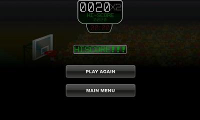 Juegos deportivos Basketmania para teléfono inteligente