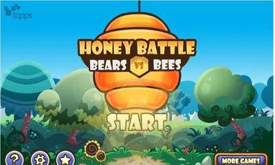 Honey Battle - Bears vs Bees icono