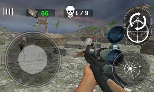 Modern army: Sniper shooter Screenshot
