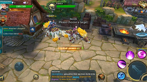 RPG Legacy of destiny: Most fair and romantic MMORPG für das Smartphone