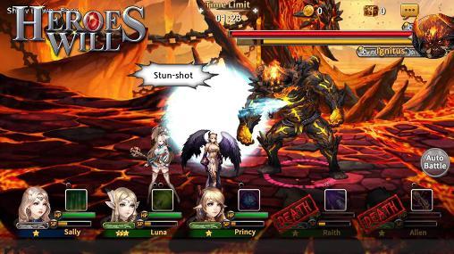 Heroes will Screenshot