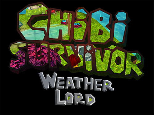 Chibi survivor: Weather lord. Survival island series screenshot 1