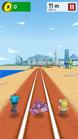 Ridiculous triathlon for Android