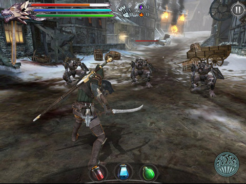 Joe Dever's Lone Wolf for iPhone