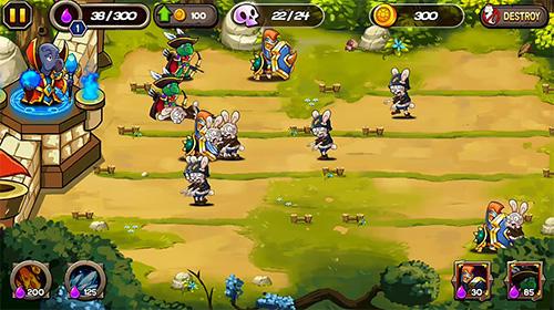 Strategische RPG-Spiele Zombie rabbits vs Sheldon auf Deutsch