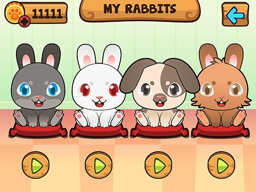 My virtual rabbit auf Deutsch