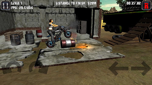 Motorcycle game captura de tela 1