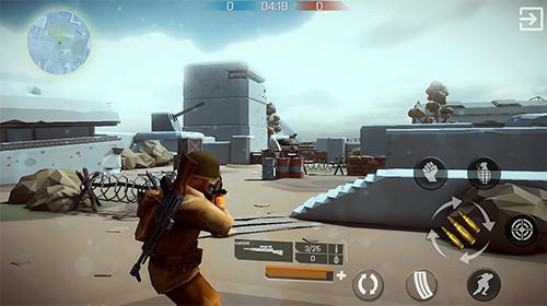 Экшен (Action) игры: скачать Mighty army: World war 2 на телефон