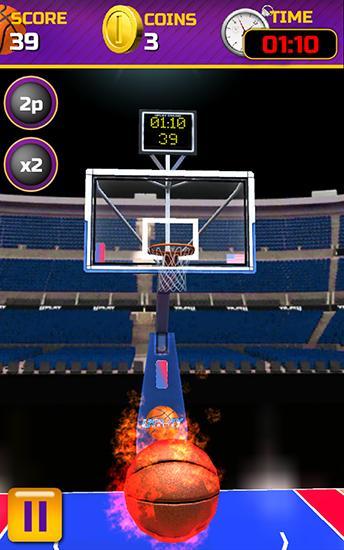 Sport Swipe basketball für das Smartphone