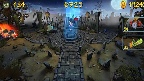 Arcade Zombie swipe für das Smartphone