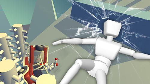 Physikspiele Stickman turbo dismounting 3D auf Deutsch