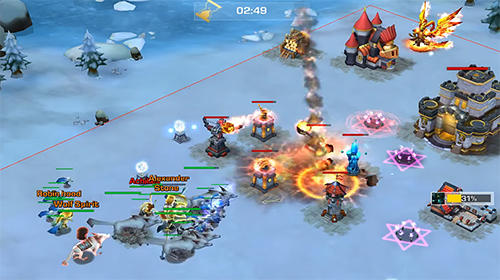Heroes odyssey: Era of fire and ice для Android