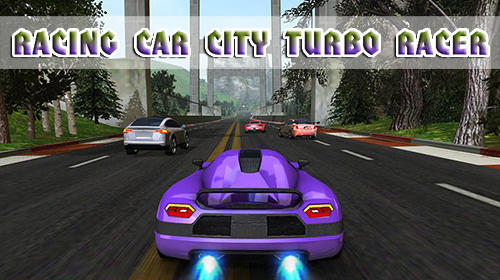 Racing car: City turbo racer icon