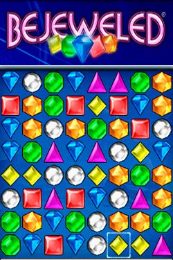 Screenshot Bejeweled auf dem iPhone