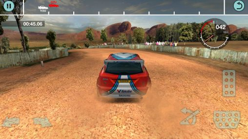 Rally games Colin McRae rally in English