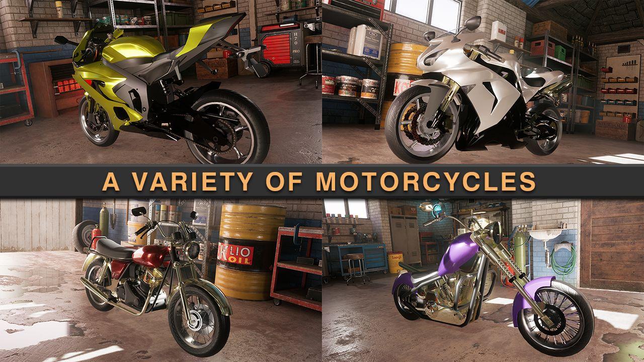 Traffic Fever-Moto screenshot 1