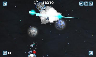 Arcade-Spiele Planet Invasion für das Smartphone