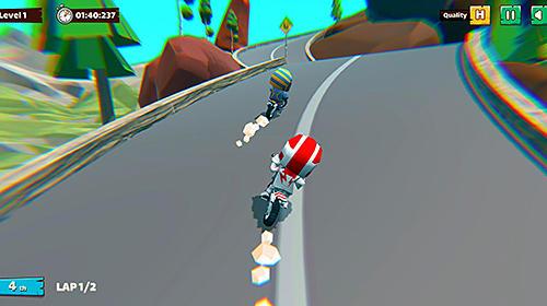 Arcade-Spiele Moto trial racing für das Smartphone