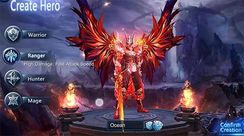 Strategie RPG Line. Hidden dragon: Occult fire warrior auf Deutsch