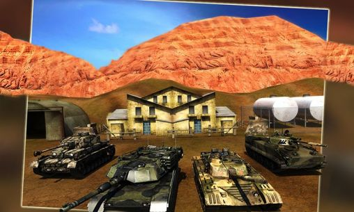 Battlefield: Tank simulator 3D für Android