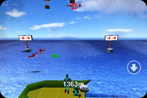 Screenshot Stuntman: Das Menschliche Torpedo! auf dem iPhone