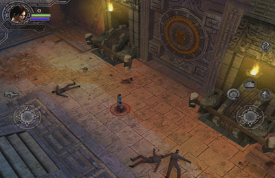 対戦型格闘ゲーム: 電話に ララ・クロフト・アンド・ガーディアン・オブ・ライトをダウンロード