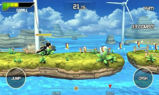 Arcade games Run and fly for smartphone