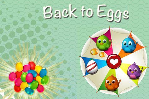логотип Назад к яйцам