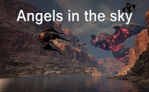 логотип Ангелы в небесах