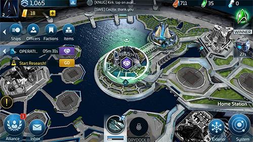 Star trek: Fleet command para Android
