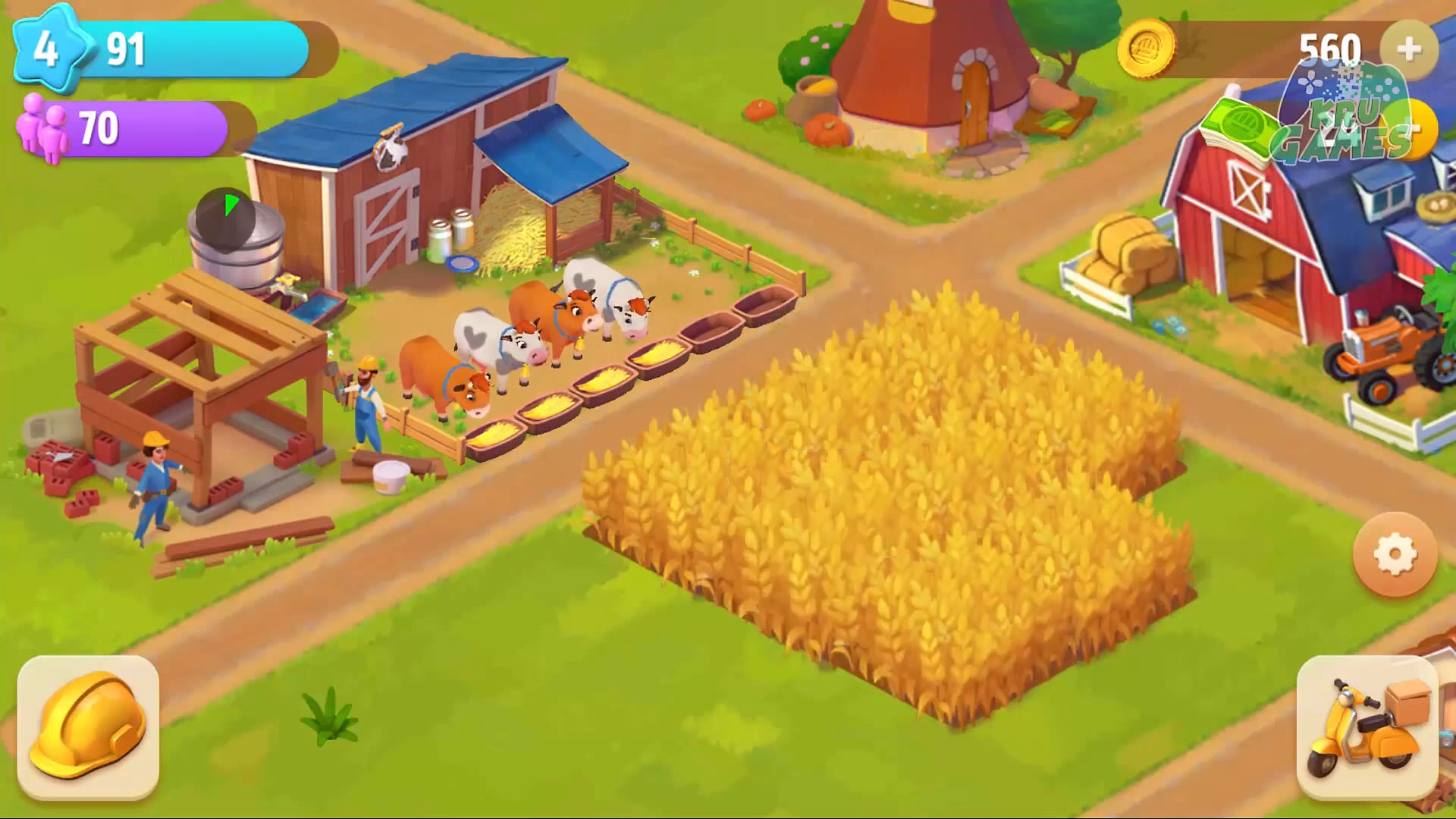 Riverside: Farm and City для Android