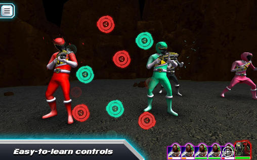 RPG Saban's power rangers: Dino charge. Rumble für das Smartphone