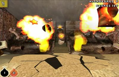 Screenshot 3D Bombe auf dem iPhone