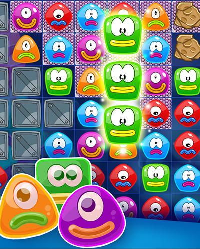 Arcade Jelly nova: Match 3 space puzzle für das Smartphone