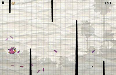 Screenshot Vogelflug auf dem iPhone