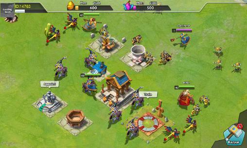 Juegos en línea Dawn of gods para teléfono inteligente