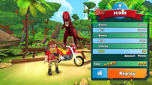 Rennspiele Playmobil: The explorers für das Smartphone