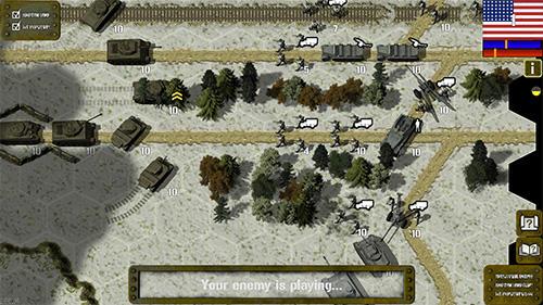 Strategie Tank battle: 1945 für das Smartphone