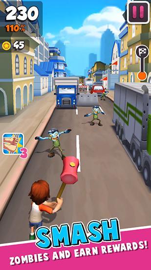 Arcade-Spiele Undead city run für das Smartphone