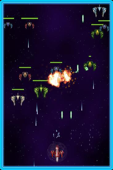 Arcade-Spiele Galaxy ranger für das Smartphone
