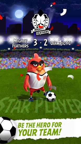 Angry birds: Goal! Screenshot