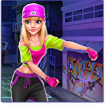 Hip hop battle: Girls vs. boys dance clash Symbol