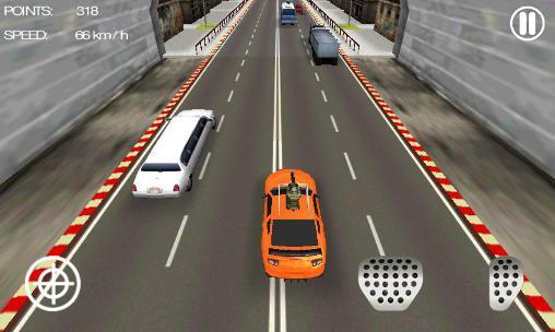 Corridas de estrada Mad car racer em portugues