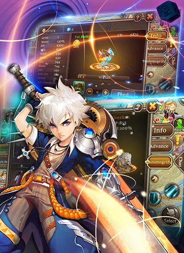 MMORPG Storm fantasy pour Android