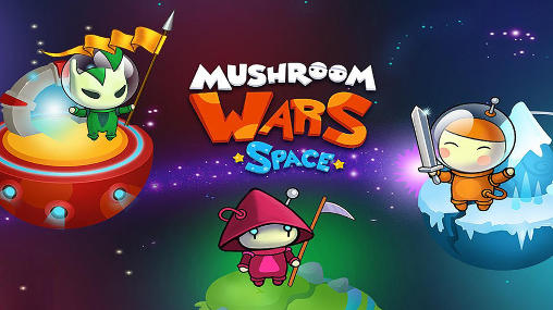 Mushroom wars: Space screenshot 1